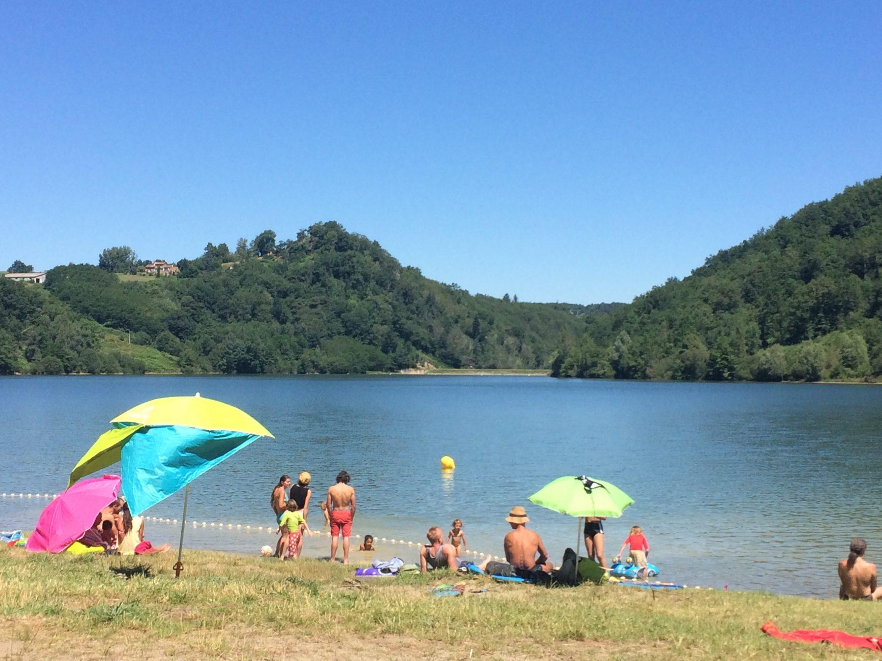 Le lac de Mondély (Ariège)