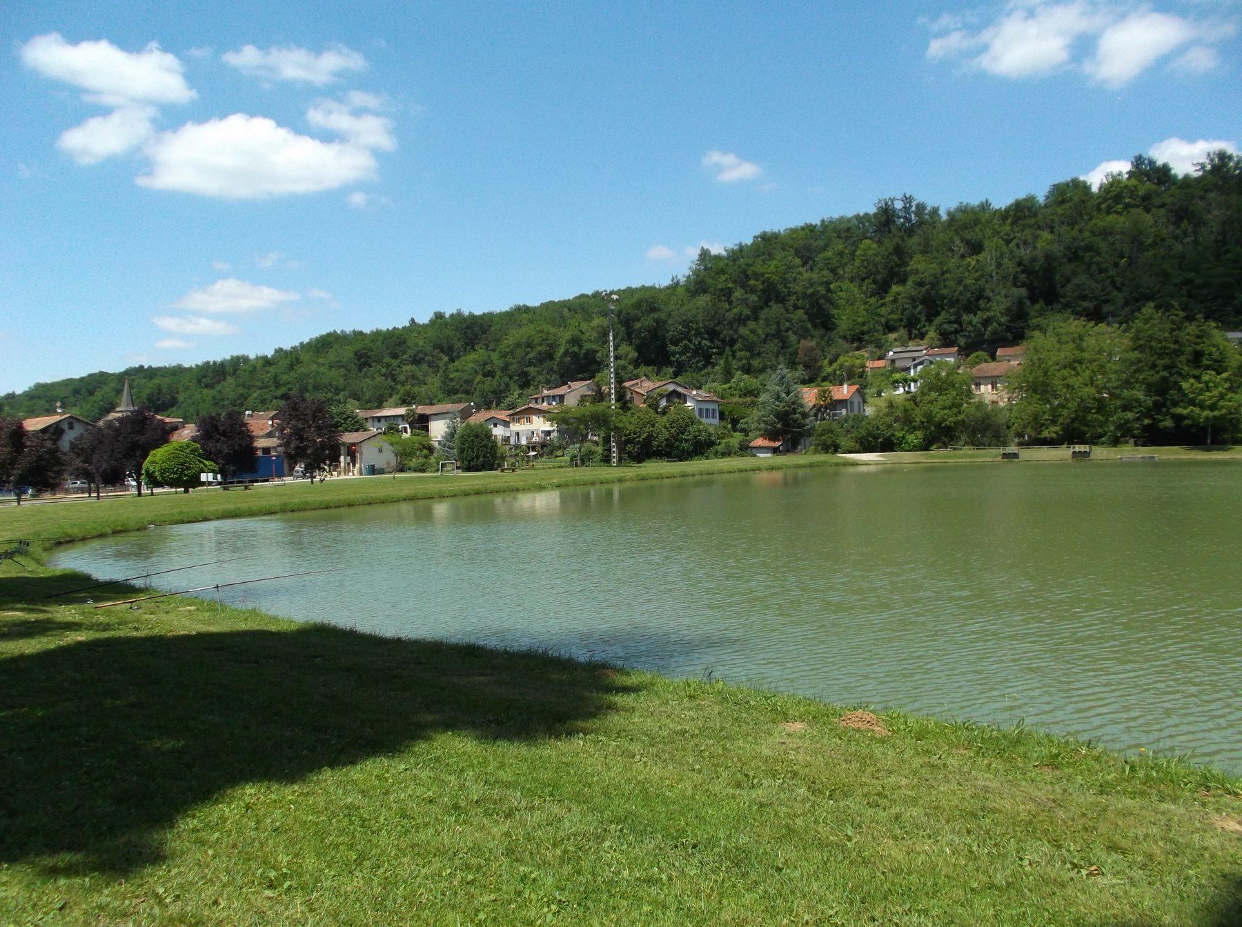 Le lac de Sainte-Croix-Volvestre (09)