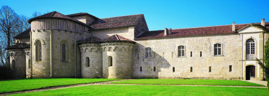 Chevet de l'abbaye de Flaran