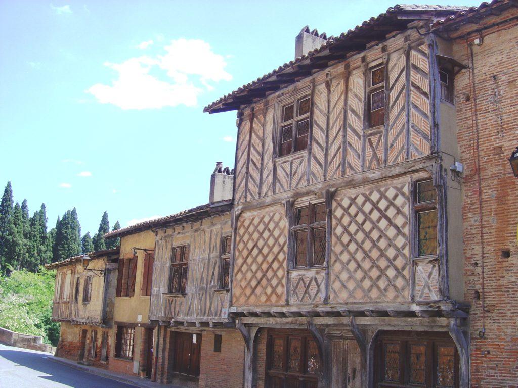 Rieux-Volvestre en Haute-Garonne en Occitanie dans le Sud de la France près de Toulouse