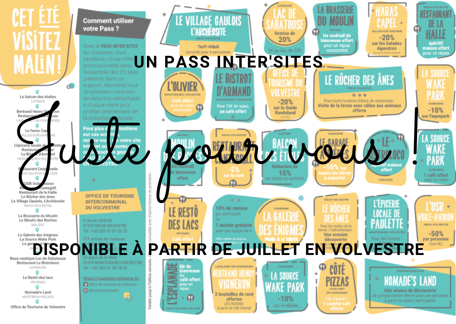 PASS INTER'SITES Volvestre